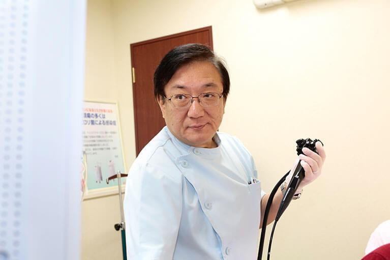 苦しくない内視鏡検査など、 なんでも相談できる町のお医者さんとして地域医療に貢献いたします。